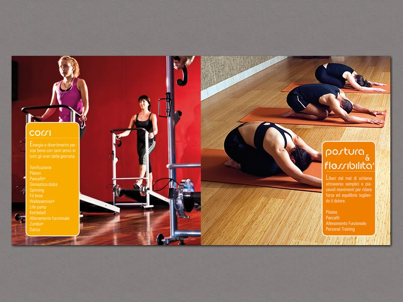 Interno brochure palestra Olympia's Center